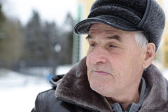 Portrait of senior man Royalty Free Stock Photos