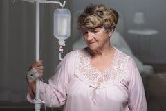 Portrait of senior patient Royalty Free Stock Image