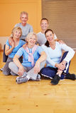 Portrait of senior people group Stock Images