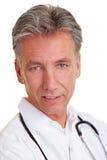 Portrait of a senior physician Stock Photo