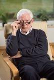 Portrait of senior psychotherapist Stock Photography