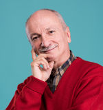 Portrait of a senior smiling man Royalty Free Stock Photography