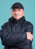 Portrait of senior smiling man Royalty Free Stock Image