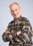 Portrait of a senior smiling man Stock Photography