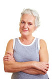 Portrait of a senior woman Stock Image