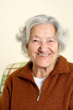 Portrait of a senior woman Stock Images