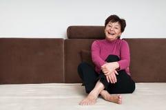 Portrait of senior woman Royalty Free Stock Photography