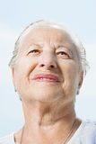 Portrait of a senior woman Royalty Free Stock Photography