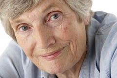 Portrait of senior woman Royalty Free Stock Photos