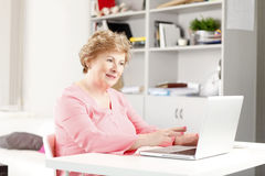 Portrait of senior woman Royalty Free Stock Photo