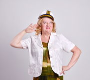 Portrait of a senior woman Royalty Free Stock Images