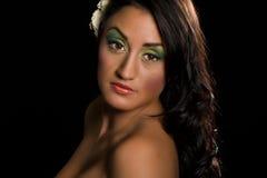 Portrait of sensual hispanic woman. Royalty Free Stock Image