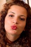 Portrait sensual woman Stock Image