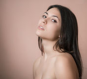 Portrait of sensual woman. Royalty Free Stock Images