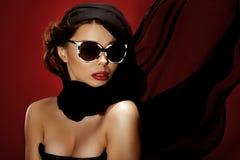 Portrait of sensual woman. Stock Image