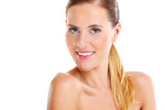 Portrait of a sensual woman Stock Image