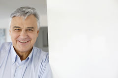 Portrait of serene man at home Stock Photography