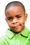 Portrait of serious boy Stock Images