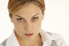 Portrait Of Serious Businesswoman Stock Image