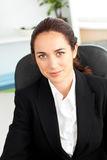 Portrait of a serious businesswoman Royalty Free Stock Images