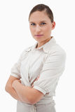 Portrait of a serious businesswoman Royalty Free Stock Photo