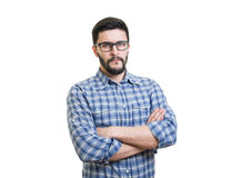 Portrait of serious man Royalty Free Stock Photography