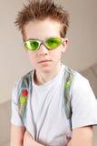 Portrait of serious, sad teenage. Portrait of serious teenage, indoor Royalty Free Stock Photo