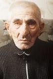 Portrait of serious senior man Stock Photos