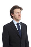 Portrait of a serious young executive Stock Images