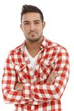 Portrait of serious young man Royalty Free Stock Image