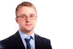 Portrait of serving man Stock Photos