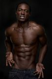 Sexy African American Man Royalty Free Stock Photo
