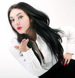 Portrait of sexy business woman Royalty Free Stock Images