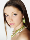 Portrait of caucasian young woman Royalty Free Stock Images