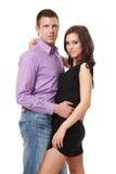 Portrait of a elegant couple Stock Image