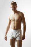 Portrait of sexy male model Stock Photo
