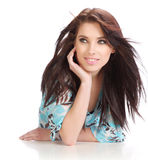 Portrait of sexy woman Royalty Free Stock Photos