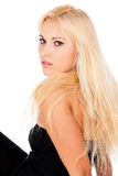 Portrait of sexy young blond girl Royalty Free Stock Photo