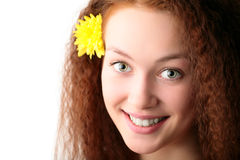 Portrait  young woman Royalty Free Stock Photography