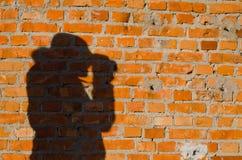 Portrait shadow Royalty Free Stock Image