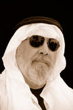 A Portrait of The Sheik at the Beach stock photos
