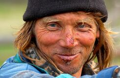 Portrait of a Shepherd smiling