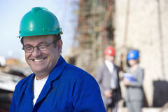 A portrait of a shipping engineer Royalty Free Stock Photography
