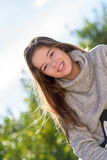 Portrait shoot outdoors with a teenage 2 Stock Images