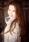 Portrait shoot outdoors with a teenage 5 Royalty Free Stock Photography