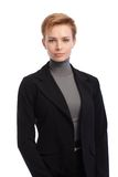 Portrait of short hair businesswoman Royalty Free Stock Photo