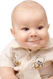 Portrait shot of a curious toddler Stock Photos