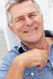 Portrait shot of senior man Royalty Free Stock Photo