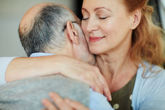 Portrait of Sincere Affection Royalty Free Stock Images