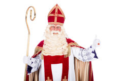 Portrait of Sinterklaas Royalty Free Stock Photography